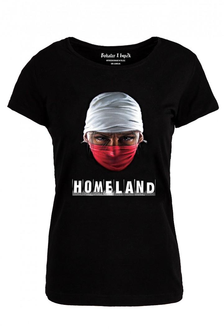 """T-shirt damski """"Homeland"""""""
