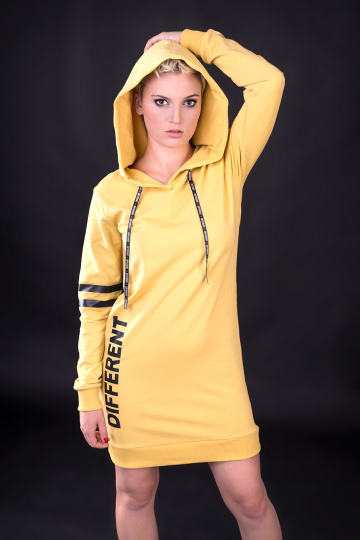 Sukienka Unicut Different Yellow